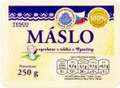 Máslo Pravá chuť Tesco