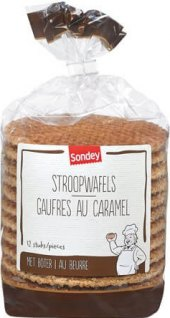 Máslové karamelové oplatky Sondey
