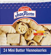 Pečivo máslové mini mražené Jean Pierre Maitre