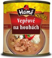Vepřové maso na houbách Hamé - konzerva