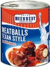 Kuličky masové v pikantní omáčce Mcennedy