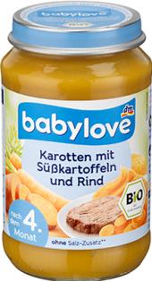 Masozeleninový příkrm bio Babylove