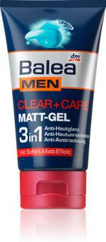 Gel na holení pánský matující 2v1 Men Balea