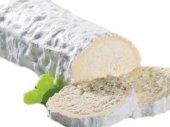 Sýr s bílou plísní měkká rolka z kozího a kravského mléka 45%