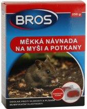 Měkká návnada proti myším a krysám Bros