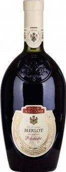 Víno Merlot Gold Asconi