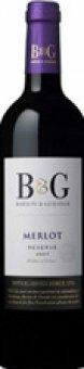 Víno Merlot Bordeaux B&G