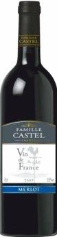 Víno Merlot Famille Castel
