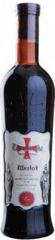Víno Merlot Templářské sklepy Čejkovice