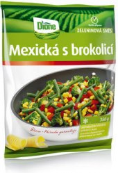 Zeleninová mexická směs s brokolicí mražená Dione