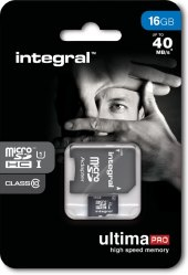 Micro SD 16 GB Integral