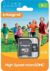 Micro SD 8 GB Integral