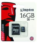 Micro SD Kingston 16 GB