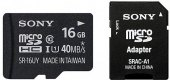 Micro SD Sony 16 GB