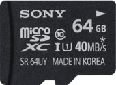 Micro SD Sony 64 GB