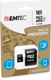 Micro SDHC 16 GB Emtec
