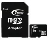 Micro SDHC 8GB Team