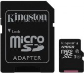 Micro SDXC Kingston 128 GB