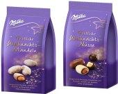 Ořechy  v čokoládě Milka