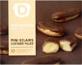 Mini dezerty mražené Eclairs Van Diermen