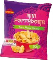 Snack mini Poppadoms Vitasia