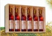 Víno miniatury Nový svět - dřevěný box