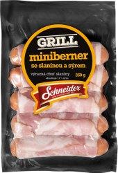 Miniberner se slaninou Schneider