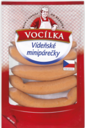 Minipárečky vídeňské Vocílka