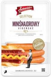 Párky minišnajdrovky vídeňské Selection Schneider