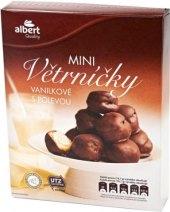 Minivětrníky s čokoládovou polevou mražené Albert Quality