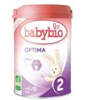 Mléčná výživa Optima Babybio