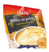 Dezert mléčný Natillas con Galleta Sol&Mar