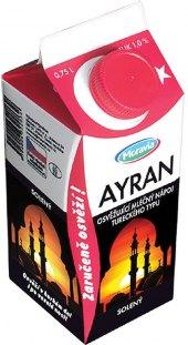Mléčný nápoj tureckého typu Ayran Moravia