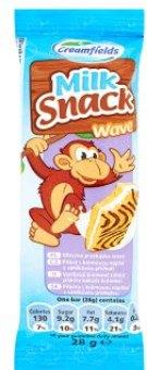 Dezert piškotový Milk snack Creamfields