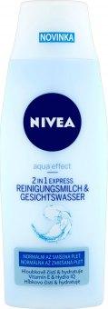 Mléko a voda pleťová čistící 2v1 Aqua Effect Nivea