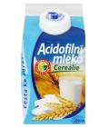Mléko acidofilní s cereáliemi Mlékárna Valašské Meziříčí