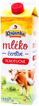 Mléko čerstvé Krajanka - 3,5% plnotučné