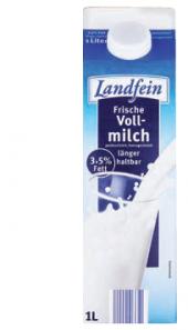 Mléko čerstvé Landfein 3,5% plnotučné