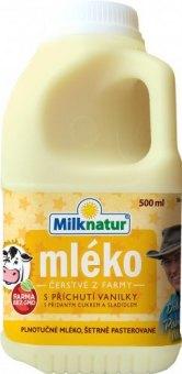 Mléko čerstvé ochucené Milknatur