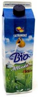 Mléko čerstvé Tatranské Tami bio - 1,5% polotučné