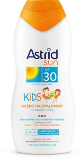 Mléko dětské na opalování OF 30 Astrid Sun