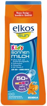 Mléko dětské na opalování OF 50 Sun Elkos