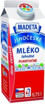Mléko lahodné Jihočeské Madeta - 3,5% plnotučné