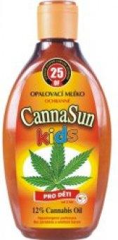 Mléko na opalování dětské CannaSun