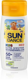 Mléko na opalování dětské OF 50+ Ultra Sensitive Med Sundance