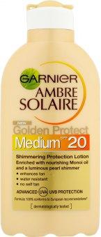Mléko na opalování OF 20 Ambre Solaire Golden Protect Garnier