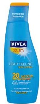Mléko na opalování OF 20 Sun Nivea