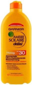 Mléko na opalování OF 30 Ambre Solaire Delial Garnier