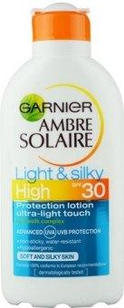 Mléko na opalování OF 30 Light&Silky Ambre Solaire Garnier