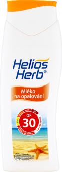 Mléko na opalování OF 30 Helios Herb